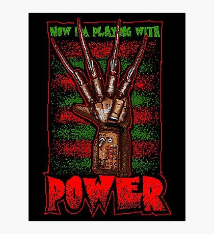 Freddy's Power Glove Photographic Print