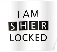 iam sher locked Poster