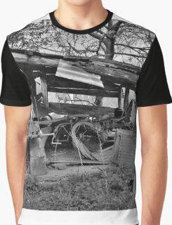 Derelict Storage Shed  Graphic T-Shirt