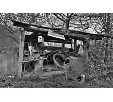 Derelict Storage Shed  Photographic Print