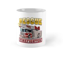 Cartoon Fire Truck Mug