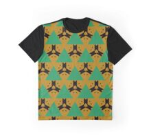 Triangles and other shapes pattern Graphic T-Shirt