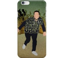 Liable To Punch You iPhone Case/Skin