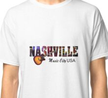 Nashville Music City USA Classic T-Shirt