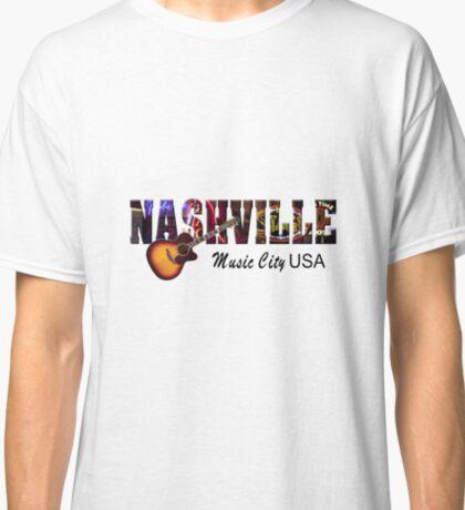 Nashville Music City USA Classic T-Shirt