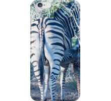 Nursing zebra iPhone Case/Skin