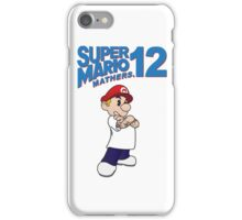 Mario Mathers 12 iPhone Case/Skin