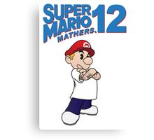 Mario Mathers 12 Canvas Print