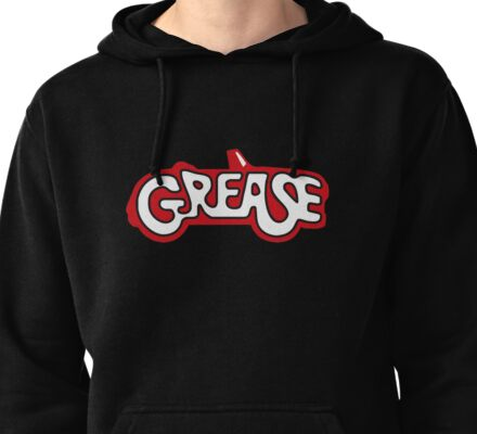 grease logo Pullover Hoodie
