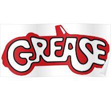 grease logo Poster