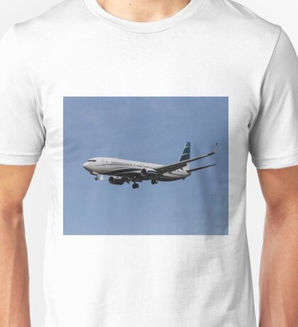 Boeing 737 Private Jet Unisex T-Shirt