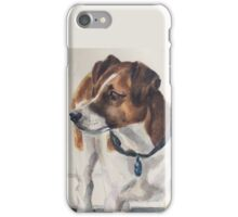 Jack Russell terrier watercolor iPhone Case/Skin