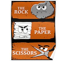 The Rock The Paper The Scissors Poster