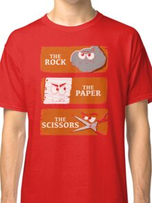 The Rock The Paper The Scissors Classic T-Shirt
