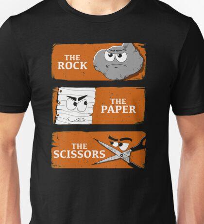 The Rock The Paper The Scissors Unisex T-Shirt