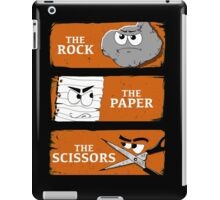 The Rock The Paper The Scissors iPad Case/Skin