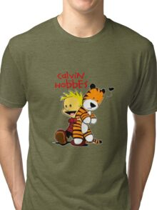 Calvin And doll hobbes Tri-blend T-Shirt