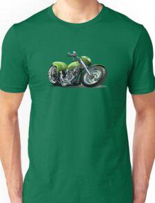 Cartoon Motorcycle Unisex T-Shirt