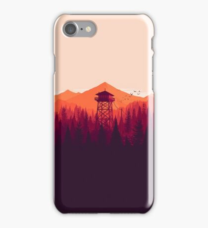 Watch Tower iPhone Case/Skin