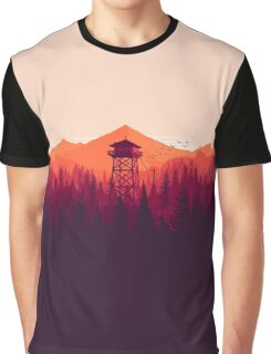 Watch Tower Graphic T-Shirt