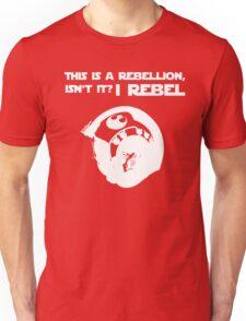 I Rebel (White) Unisex T-Shirt
