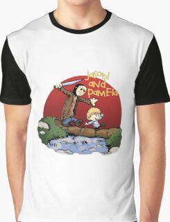 calvin and hobbes meets jason Graphic T-Shirt