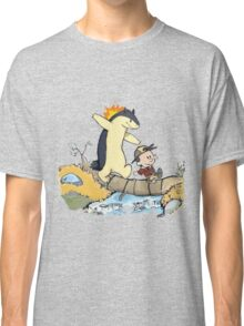 calvin and hobbes meets pokemon Classic T-Shirt