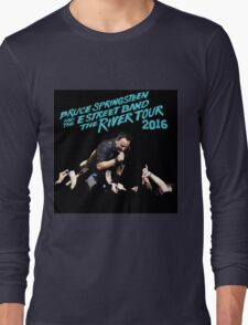 EXLUSIVE THE RIVER TOUR WORLD 2016 B.SPRINGSTEEN  Long Sleeve T-Shirt