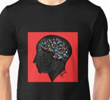 left lobe of the brain Unisex T-Shirt