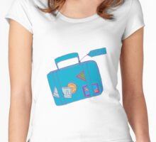 Travel Luggage Women's Fitted Scoop T-Shirt