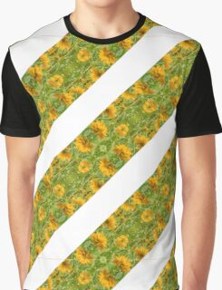 Indian Floral Stripes Pattern Graphic T-Shirt