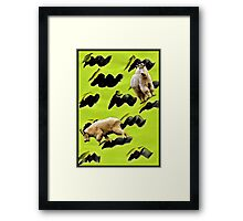 Two Goats Framed Print