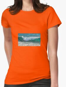 Wave Womens Fitted T-Shirt