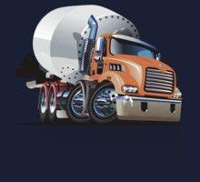 Cartoon Mixer Cement Truck Kids Tee
