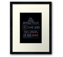9th June - PNC Arena Framed Print