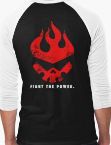 Gurren lagann - Fight the power ! Men's Baseball ¾ T-Shirt
