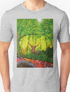 Young Red Deer Stag T-Shirt