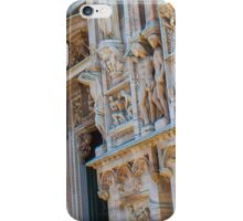 sculptures of south and west facade. Duomo. Milan iPhone Case/Skin