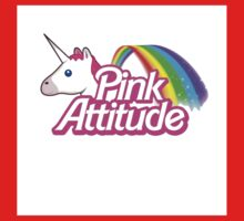 """""""pink Attitude"""" One Piece - Long Sleeve"""