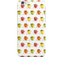 Colorful dragees in cups iPhone Case/Skin