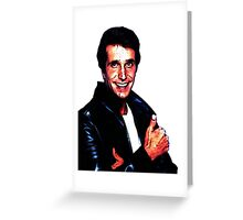 The Fonz! Greeting Card