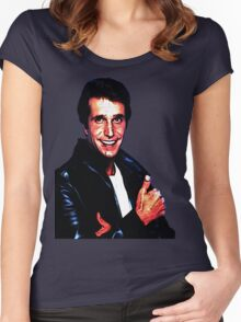 The Fonz! Women's Fitted Scoop T-Shirt
