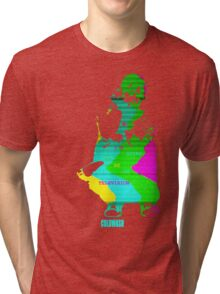 I'M GOING TO BE ON TELEVISION Tri-blend T-Shirt
