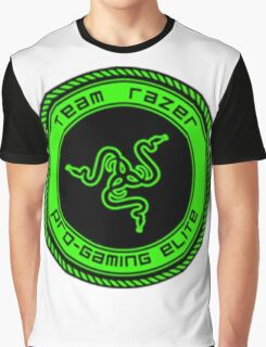 Old Team Razer Logo Graphic T-Shirt