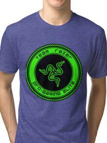 Old Team Razer Logo Tri-blend T-Shirt