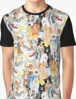 Dogs dogs dogs Graphic T-Shirt