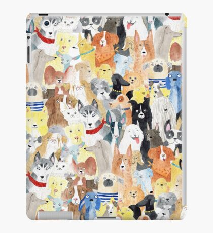 Dogs dogs dogs iPad Case/Skin