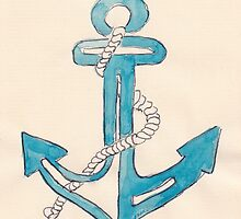 Nautical theme - Anchors away! by Maree Clarkson