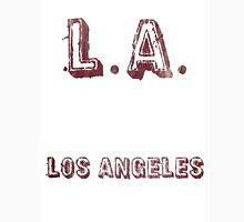 L.A: Los Angeles Unisex T-Shirt