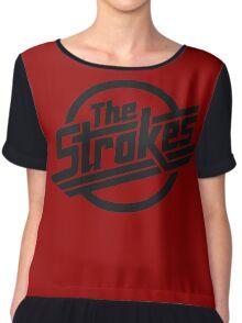The Strokes Rock Band Chiffon Top